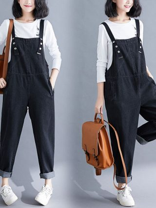 Overalls Denims New Giant Dimension Black Denim