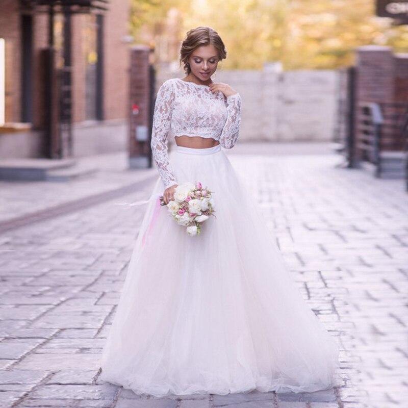 Soft White Tulle Wedding Skirts elegant High Waist Boho Beach Wedding Party Skirt Chic Overlap Women Long Maxi Skirts Plus Size