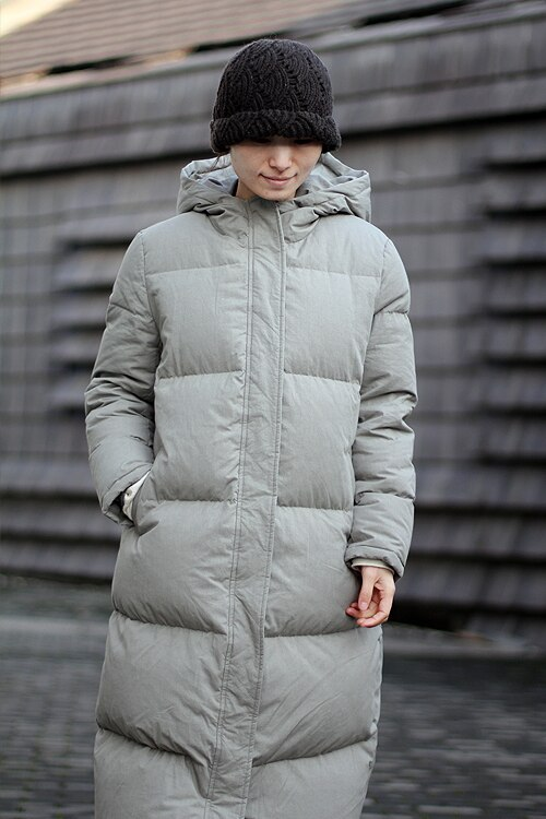 Extra Thick Women Down Coat Long Winter Coat Plus Size Winter Down Jacket 2017 New Design 3