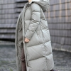Thick Ladies Down Coat Lengthy Winter Coat Plus