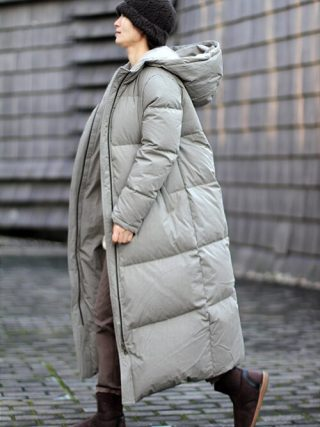 Thick Ladies Down Coat Lengthy Winter Coat Plus