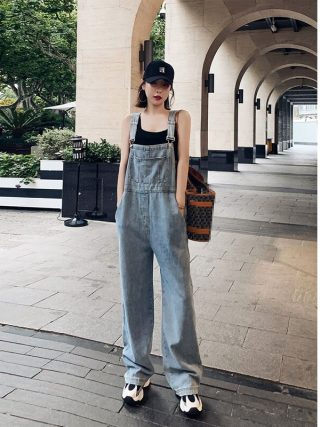 Summer Denims Korean-Type Free Mopping Pants