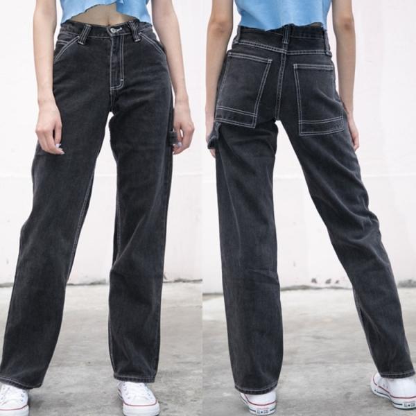 Unfastened Pants Excessive Waist Pants Brandy Melville Girls