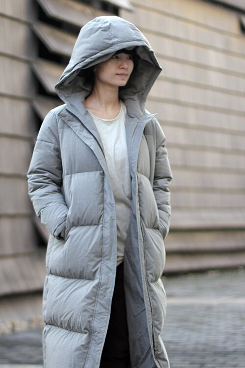 Extra Thick Women Down Coat Long Winter Coat Plus Size Winter Down Jacket 2017 New Design 4