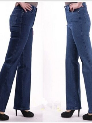 Vogue Ladies Informal Straight Denims Plus