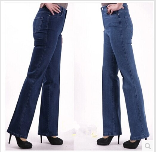 New Fashion 2020 Women Casual Straight Jeans Plus Size Jeans Female Denim Trousers High Waist Jeans For Women Free Shipping