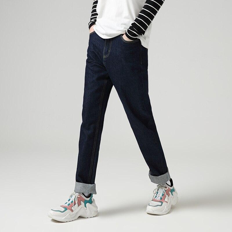 Toyouth Jeans Harem For Women Loose Vintage Harem Straight Jeans Pants High Waist Cotton Jean Female Boyfriend Denim Trousers 3