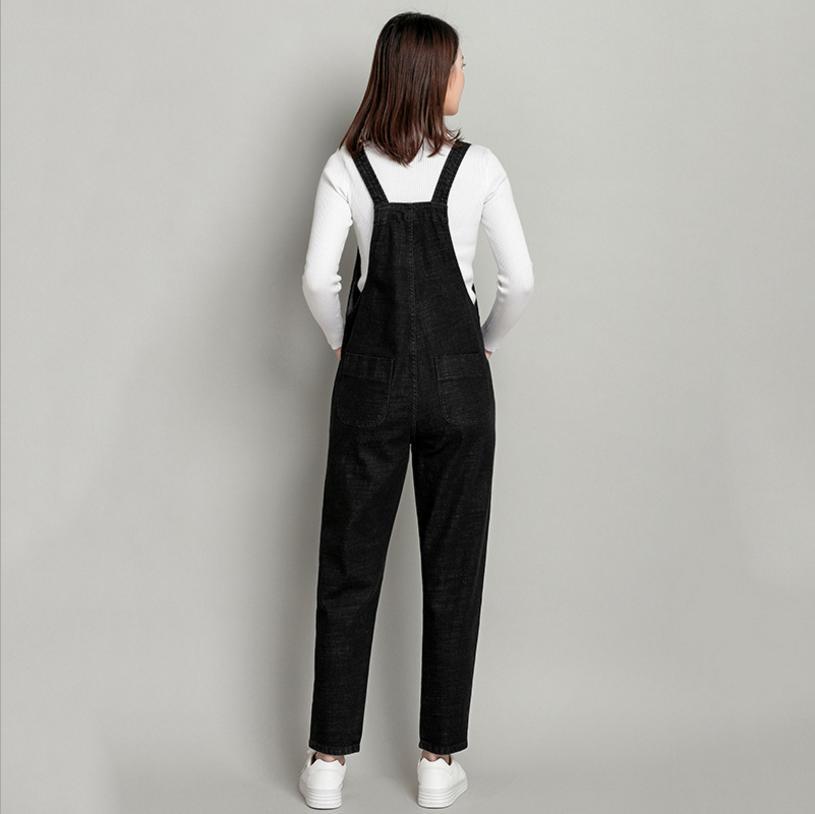 2018 Jeans Fashion loose Plus Size S-3XL&4XL&5XL Pants Women Pencil pants Overalls Jumpsuit And Rompers Denim Trousers L95 4
