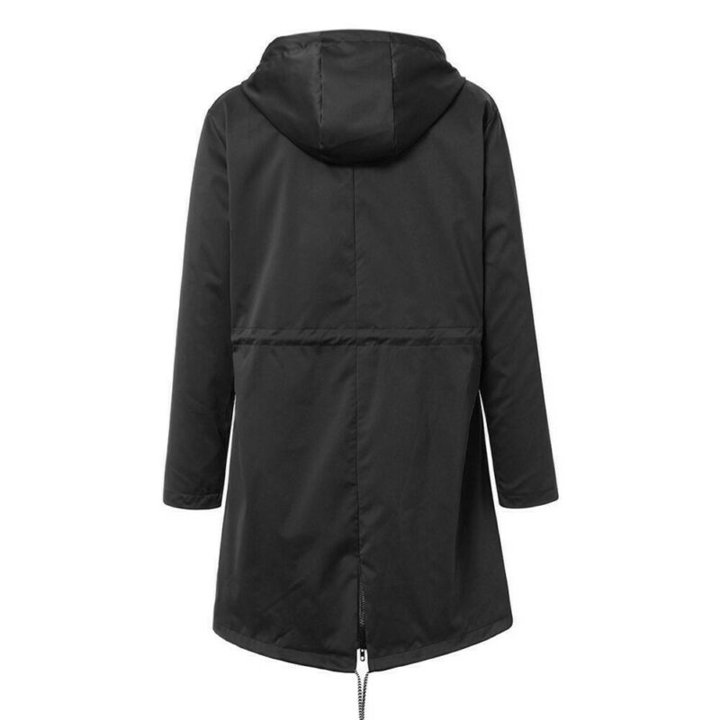 Women Jacket Coats Pure Color Waterproof Transition Jacket Outdoor Hiking Clothes Lady Lightweight Coat Streetwear Women Clothes 4