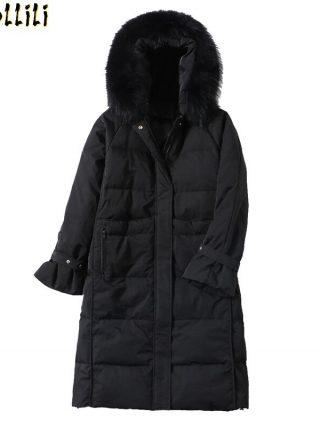Boollili Women's Down Jacket Winter White Duck