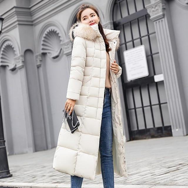 Winter women down jacket female coat 2020 new thick warm long down coat female outerwear fashion hooded winter jacket women 2