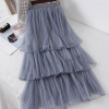 Ladies Candy Chiffon Informal Lengthy Skirt