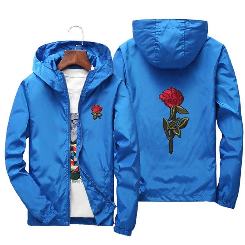 Large Size 7XL 2019 Spring Autumn Thin Women Jacket Overalls Summer Sunscreen Windbreaker Female Short Jackets Couple Models 4