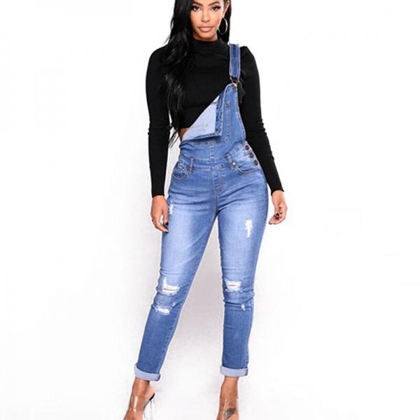 Autumn pants girls pants suspenders jean ladies gap pencil pants