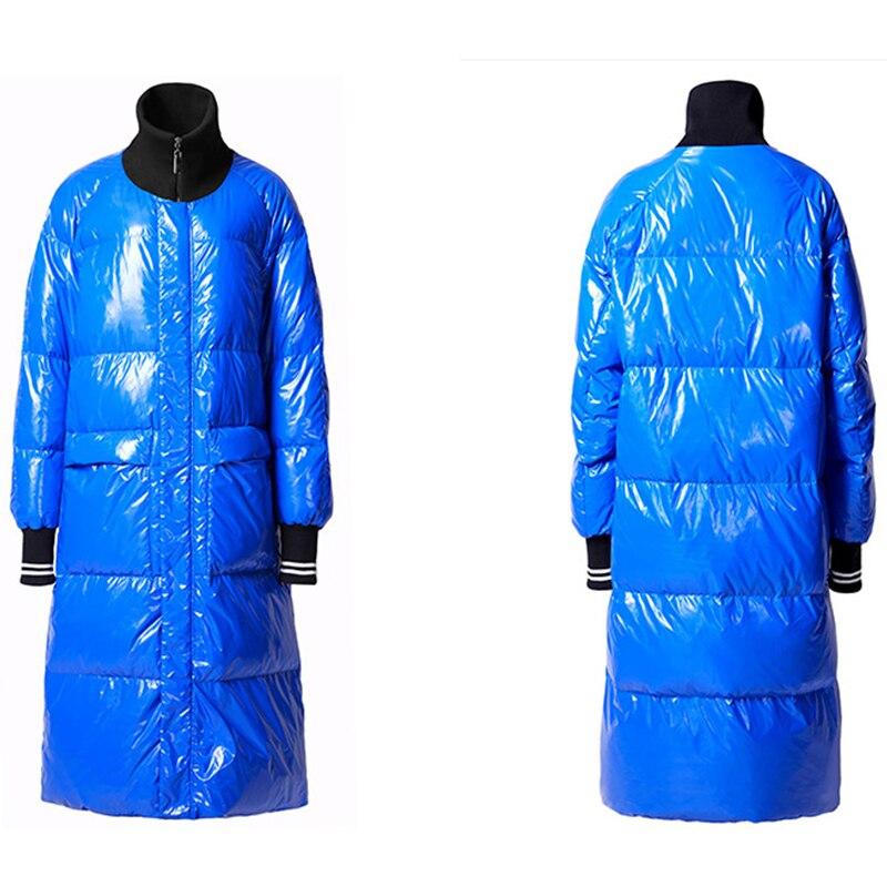 Winter New Fashion Listing Collection Women Warm Long Down Jacket Flash Parkas Plus Size 7XL Waterproof&Windproof 4