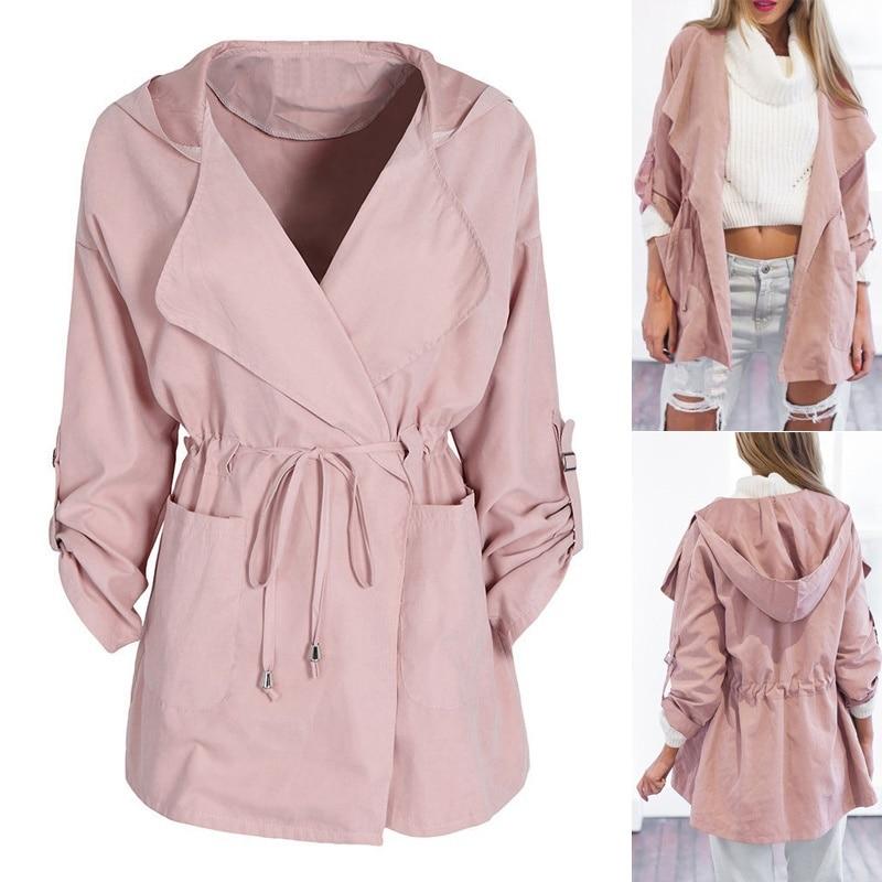ZOGAA spring new womens jackets and coats Casual streetwear 5 colors Hooded windbreaker plus size S-3XL windbreaker women 2