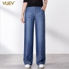 Tencel Denim Denims Girls Massive Yards Straight