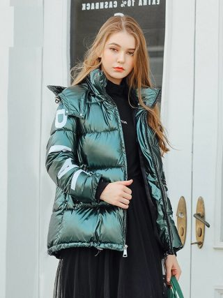 Hood Down Coat Girls Jacket Plus Dimension Parka Winter Puffer