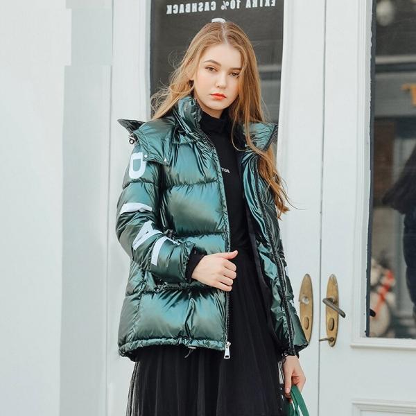 Hood Down Coat Girls Jacket Plus Dimension Parka Winter Puffer