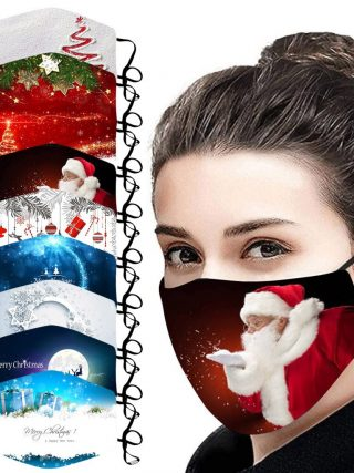 Christmas Face Masks Activated Carbon