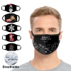 Resuable Christmas Face Mask Breathable Washable