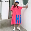 Outsized T Shirt Gown Ladies Summer time 2020 Informal Plus