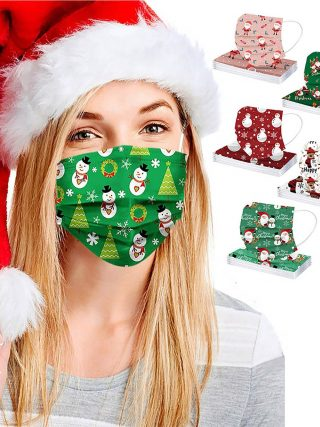50PC combined shade masks christmas face mask