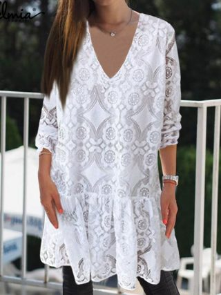 Bohemian Lace Girls Summer season Gown Celmia