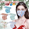 10pc Christmas face Masks Adults Unisex Disposable