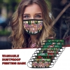 Protecting Christmas Face Masks Adjustable Comfortable