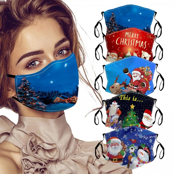 Grownup Christmas Face Masks Style