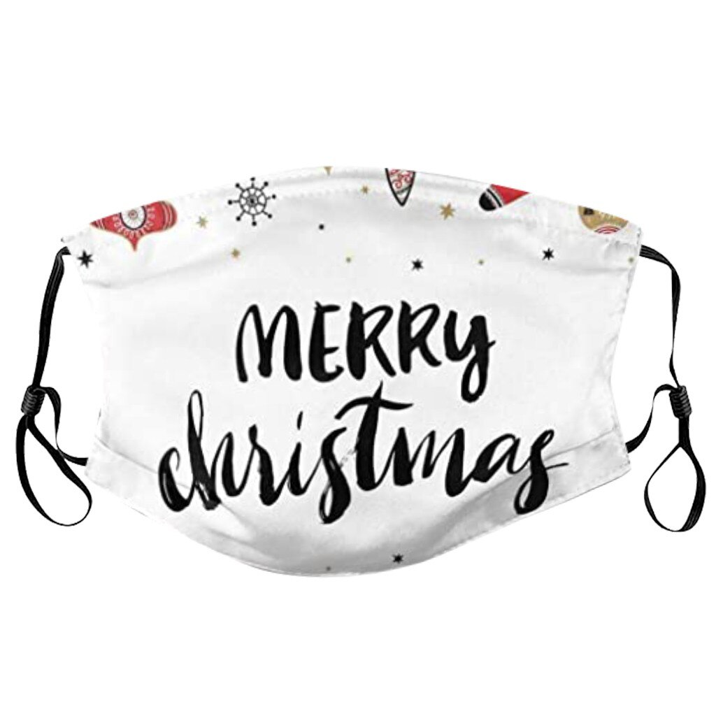 Christmas Face Mask Washable Proof Protect Face Mouth Cover Outdoor Youre Close Mascarilla Reutilizable Mondkapjes Herbruikbaar 4