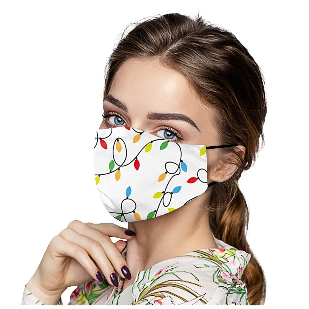 Christmas Face Mask Washable Proof Protect Face Mouth Cover Outdoor Youre Close Mascarilla Reutilizable Mondkapjes Herbruikbaar 2