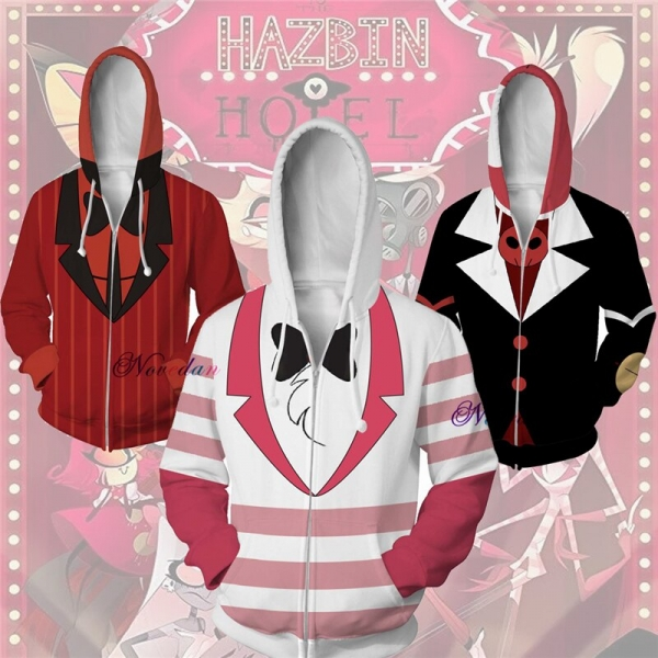 Alastor Hazbin Cosplay Lodge Hoodie Sweatshirt