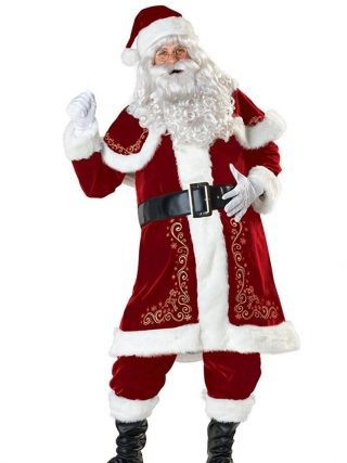 Christmas Garments Santa Claus Costume