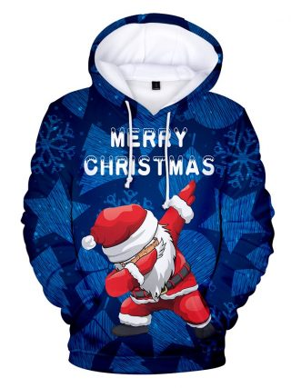 Christmas 3D Hoodies children and grownup Sweatshirts