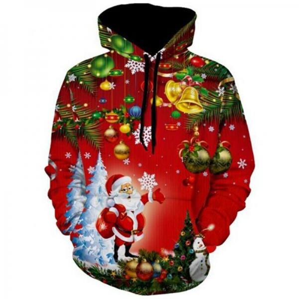 Girls Jackets and Coats Santa Claus Costume 3D Print