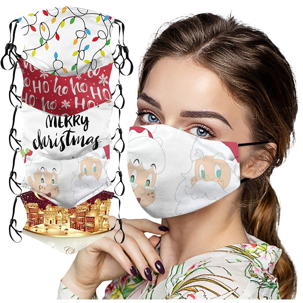 Christmas Face Mask Washable Proof Protect Face Mouth Cover Outdoor Youre Close Mascarilla Reutilizable Mondkapjes Herbruikbaar 1