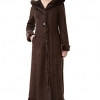 Women's Pauline Hooded Faux Shearling Maxi