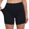 High Waist Tummy Control Workout Biker Running Yoga Shorts