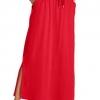 Women's Plus Size Sport Knit Side-Slit Skirt