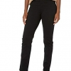 Amanda Classic High Rise Tapered Black Jean