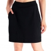 "Women's 4 Pockets UV Protection 17"" Long Tennis Running Skirt"