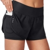 2 in 1 Running Shorts Workout Athletic Gym Yoga Shorts
