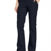 Women's Flat Front Stretch Twill Pant Slim Fit Bootcut