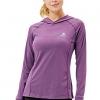 Womens Running Hoodies Workout Pullover Lightweight Gym