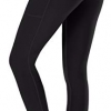 Yoga Pants with Pockets High Waist Tummy Control Non See-Through