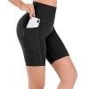 High Waist Yoga Shorts Workout Athletic Shorts