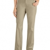 Curvy Straight Leg Stretch Twill Pant
