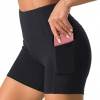 Dragon Fit High Waist Yoga Shorts for Women with 2 Side P